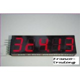 Lipo accu voltmeter 2-6 cels met groot LED display